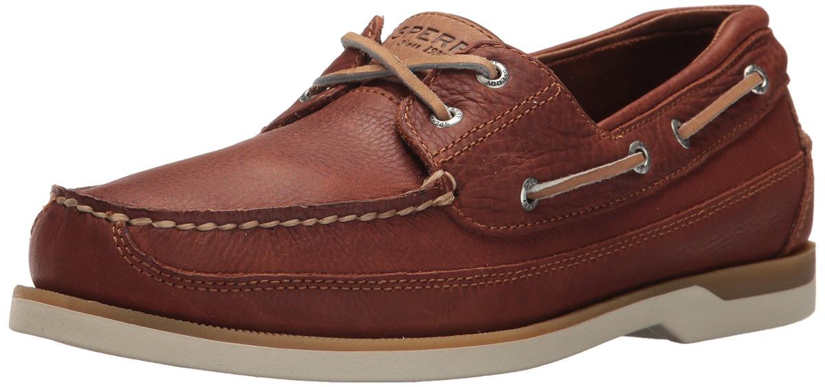 04ed828f4 Sperry top sider mako eye boat shoe tan medium us u jpg 1200x563 Sperry mako