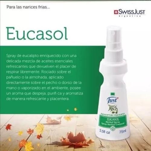 spray eucasol eucalipto swiss just.