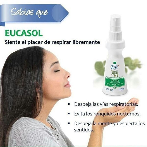 spray eucasol swiss just - envios gratis