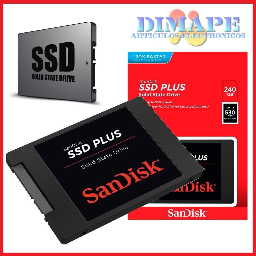 Hd Ssd Sandisk Plus 240gb G26 Many Wallpaper Sata 3 Unidad De Estado Solido U S 90