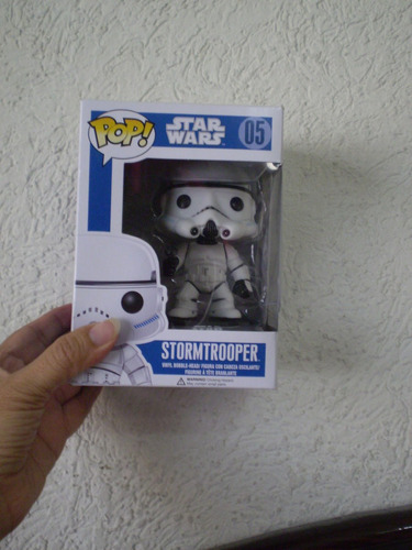 star wars! bobble head funko pop stormtrooper!