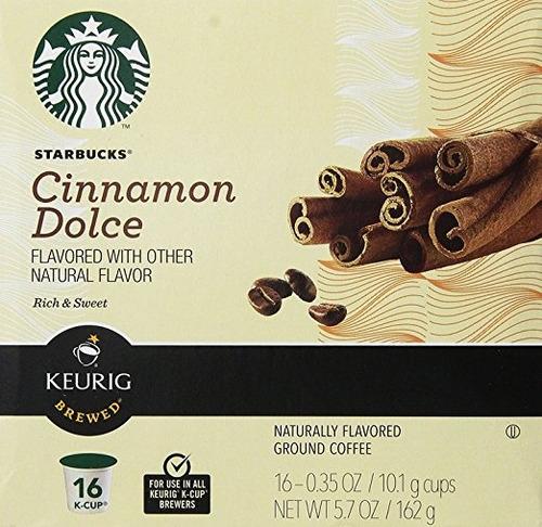 starbucks cinnamon dolce k-cup 16 ct