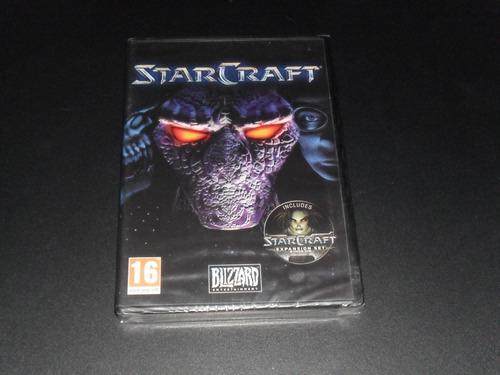 starcraft gold 1yexp+nuevo sellado+pc original+español