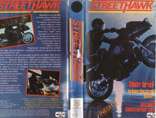 streethawk - rex smith - christopher lloyd -  motos futuro