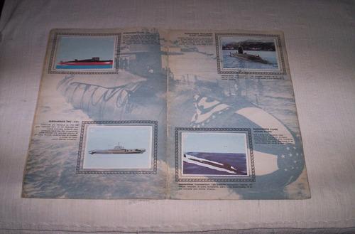 submarinos album de cromos español.completo.