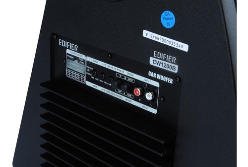 subwoofer edifier cw1200b 12 250w bajo consumo alta potencia