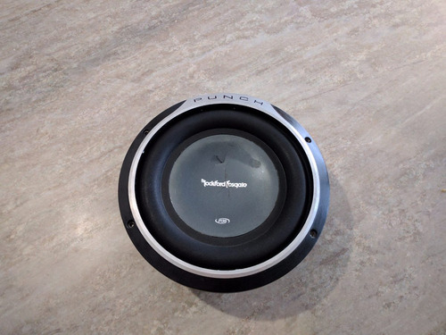 subwoofer rockford fosgate punch 10  p3s shallow