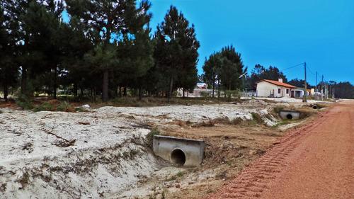 suc. el pinar - terrenos financiados en el pinar