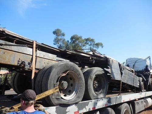 sucata p/venda peças ford cargo 2428 8x2 bi-truck 2011 275cv