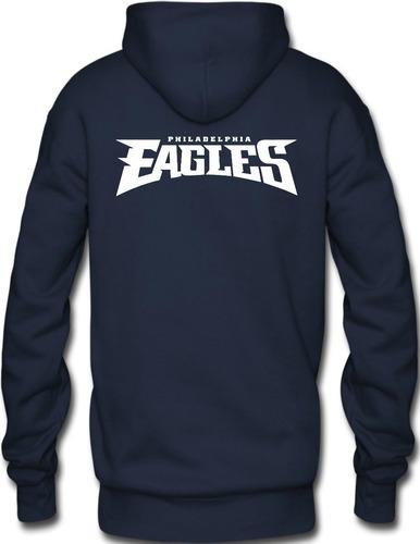 sudadera philadelphia eagles nfl hoodie capucha cangurera