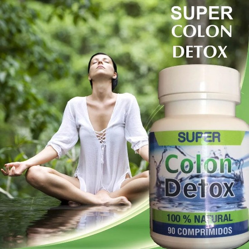 super colon cleanse detox.limpiador de colon
