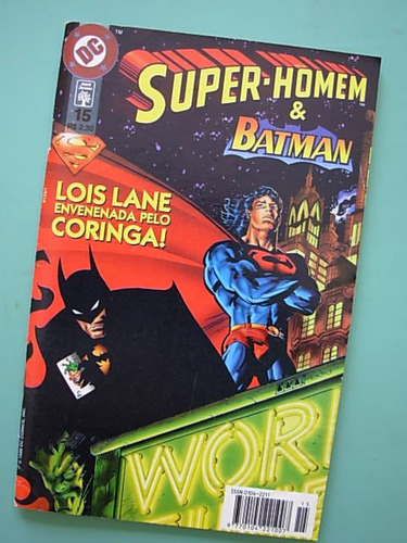 super-homem # 15 (2ª série) - jan/1998 - abril