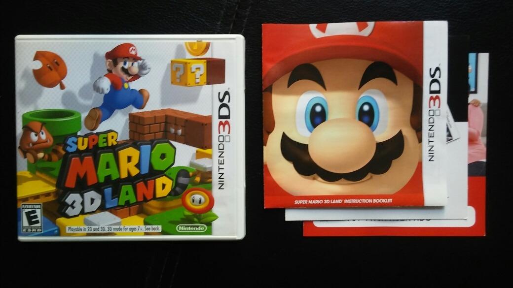 Super Mario 3d Land Juego Original Para Nintendo 3ds 1 140 00