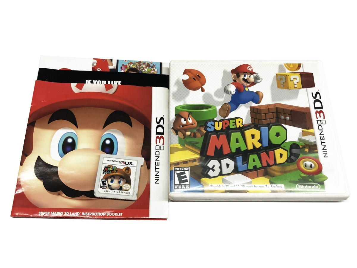 Super Mario 3d Land Juego Original Para Nintendo 3ds 1 290 00