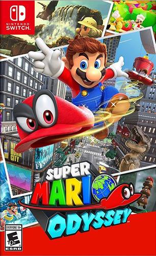 super mario odyssey - switch - código - widgetvideogames