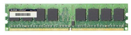 super talent ddr2 667 512 mb 64x8 memory t667ua512v bulk