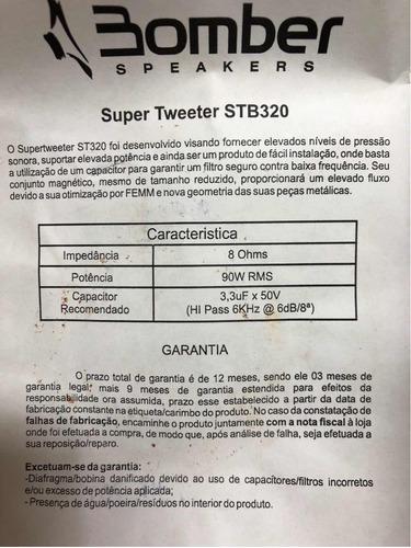 súper tweeter bomber brasil