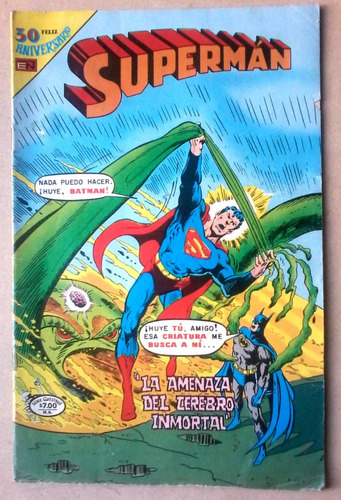 superman editorial novaro no 3-66.1980 impecable