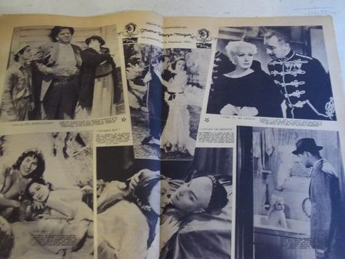 suplemento cine el día, mayo 1934, metro goldwyn mayer 16 p