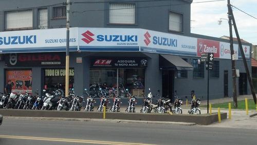 suzuki ax 100 0km concesionario oficial zona sur quilmes