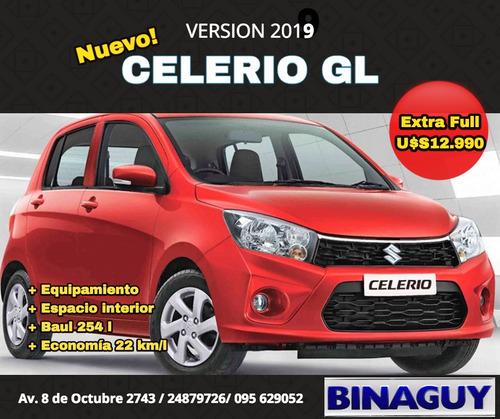 suzuki celerio gl / 2019 / extra full / reserve hoy!