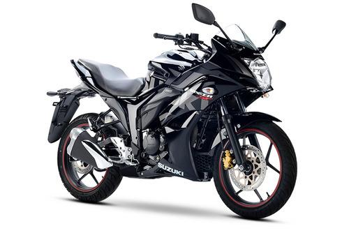 suzuki gixxer black edition inyección 14 hp freno disco