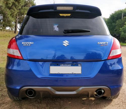 suzuki swift sport 2016 - azul eléctrico