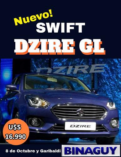 swift dzire gl / extrafull / permuto y financio! reserve hoy