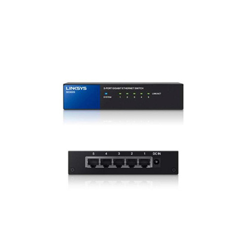switch 8 puertos 10/100/1000 gigabit linksys se-3008 - lcp