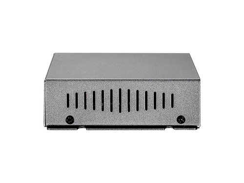 switch levelone fsw-0503 4-port poe w1-port 10/100 wall