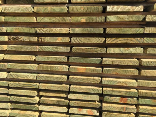 tabla de deck pino tratado cca (x unidad) fabiltop