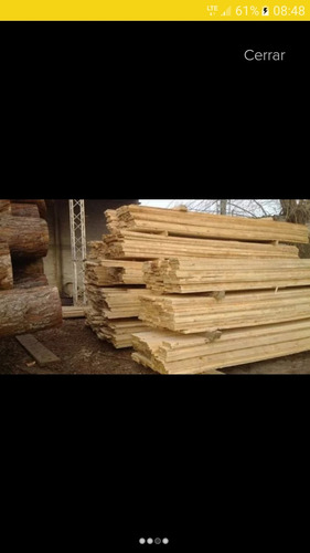 tablas eucalipto y de encofrado en pino