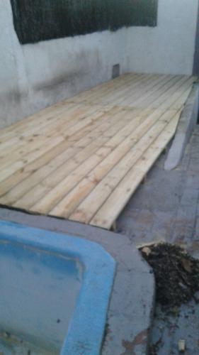 tablas para deck 3 metros x 14.5 x 25mm secas en hornos