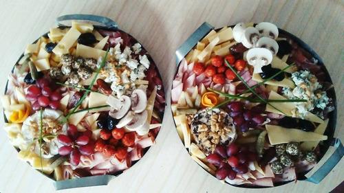 tablas y picadas gourmet bocados varios