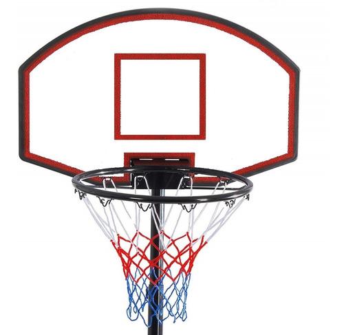 tablero aro basket con altura regulable - basketball lg