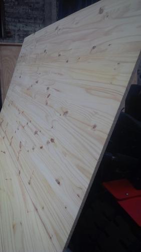 tablero de pino 1,20x2,40 x 15mm el mejor precio carpinteros