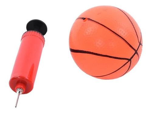 tablero set de basketball aro + pelota + inflador lg