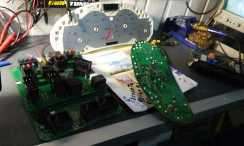 tableros digitales,ecus,abs,airbag,chip de potencia,
