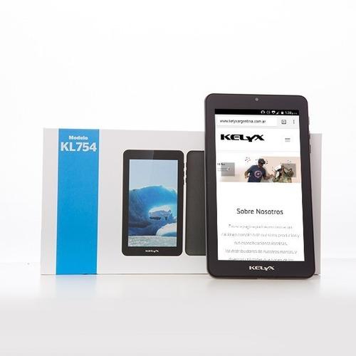 tablet de 7 pulgadas kelyx smart sk728 16 gb android full hd