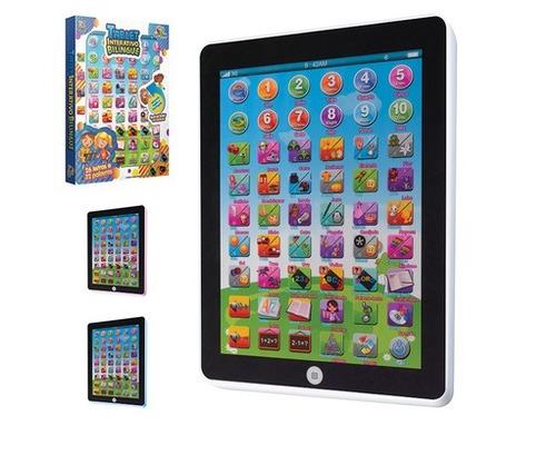 tablet infantil educativo bilingue infantil art brink