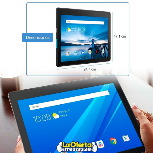 tablet lenovo tab 10 quad core 16gb 2gb ram android 8.1 loi