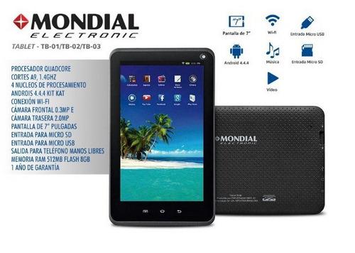 tablet mondial quad core tb-01-brasil shop