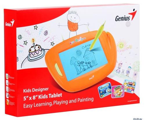 tableta digitalizadora genius kids designer 5x8 usb
