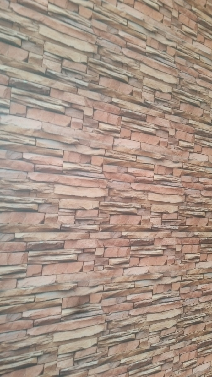 Tablillas lambris de de pvc imitacion piedra e infantiles for Plaqueta imitacion piedra para exterior