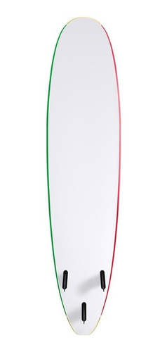 tablon de surf softboard wave storm 8'0 rasta - la isla