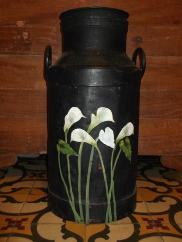 tacho lechero decorado