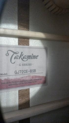 takamine (taylor,gibson,yamaha,fender)  gj72ce con estuche!!
