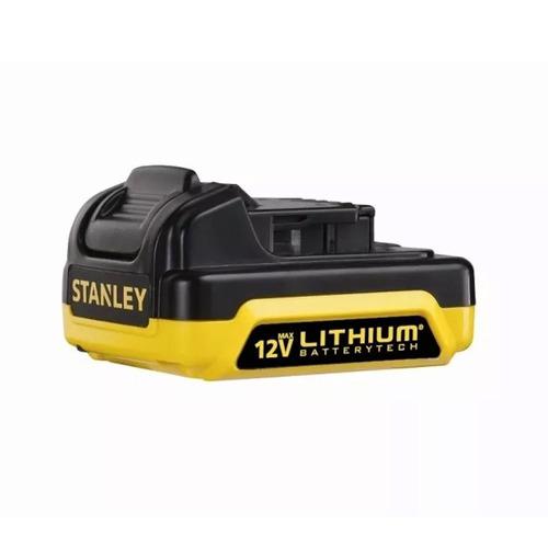 taladro inalambrico stanley 12v maletin y 2 baterias scd12s2