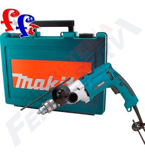 taladro percutor electrico 20mm 3/4 makita 1010w hp2070