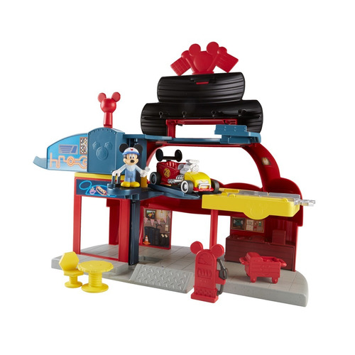 taller garage roadster racers de mickey fisher price